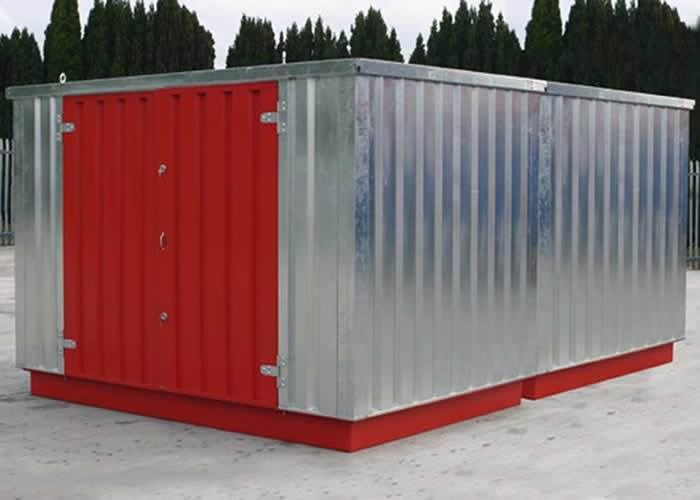 Expandachem is the market leading flat pack bunded store and is the ideal solution for providing safe and secure storage for materials in previously ... & Expandachem | Flat pack Chemical Store | Bunded Store